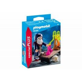 Playmobil pl9096 - Tovenaar met laboratorium
