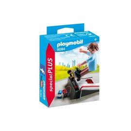 Playmobil pl9094 - Skater met skateramp
