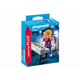Playmobil pl9095 - Zangeres met keyboard