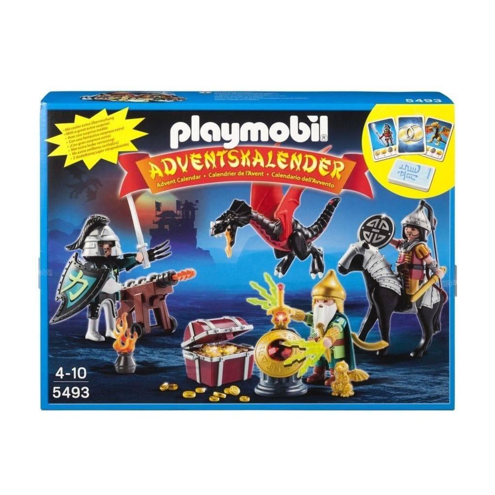 Playmobil Weihnachtskalender.Pl5493 Adventskalender Drakenridders