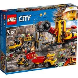 LEGO® LE60188 - Mijnbouw expert locatie