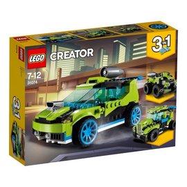 LEGO® LE31074 - Raket rallyauto