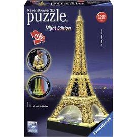 Ravensburger PU125791 - 3D puzzel Eifeltoren met licht 216  stukjes
