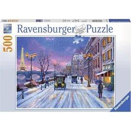Ravensburger PU147410 - Winter in Parijs 500 stukjes