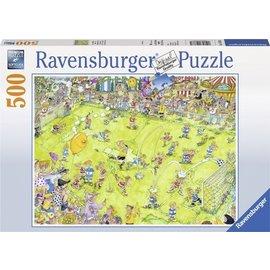 Ravensburger PU147861 - Voetbalwedstrijd 500 stukjes