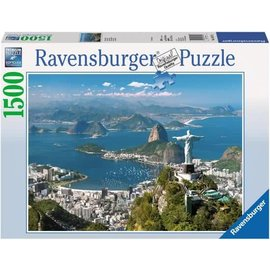 Ravensburger PU163175 - Uitzicht op Rio 1500 stukjes