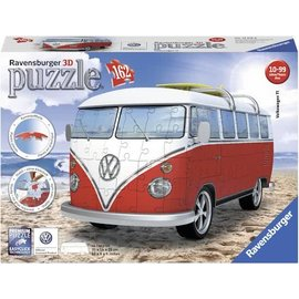 Ravensburger PU163335 - Volkswagen bus T1 bulli 3D 162 stukjes
