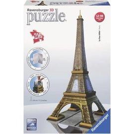 Ravensburger PU125562 - Eiffeltoren, 3D puzzelgebouw 216 stukjes