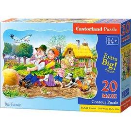 Castorland puzzels PUC022831 - Big Turnip 20 stukjes