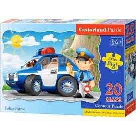 Castorland puzzels PUC022521 - Police Patrol 20 stukjes