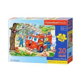 Castorland puzzels PUC021461 - Fire Brigade 20 stukjes