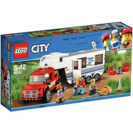 LEGO® LE60182 - Pick-up truck en caravan