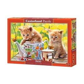 Castorland puzzels PUB52356 - Tea time 500 stukjes