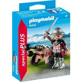 Playmobil pl9441 - Ridder met kanon