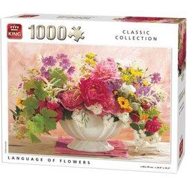 King International PU05377 - Language of flowers 1000 stukjes