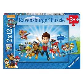 Ravensburger PU075980 - Paw Patrol 2 x12 stukjes