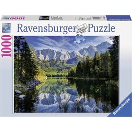 Ravensburger PU193677 - Eibsee met Wettereingebergte 1000 stukjes
