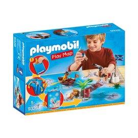 Playmobil pl9328 - Piraten met plattegrond
