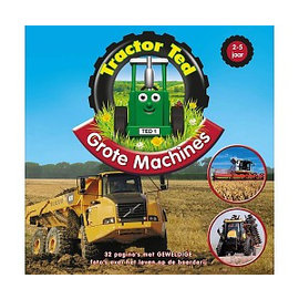 Tractor Ted TT021 - Tractor Ted Boek Grote Machines