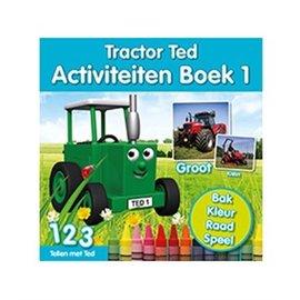 Tractor Ted TT023 - Traktor Ted Activiteiten Boek 1
