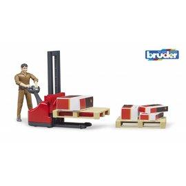 Bruder BF62210 - Figurenset UPS Logistics