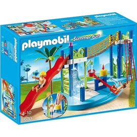 Playmobil pl6670 - Waterspeeltuin