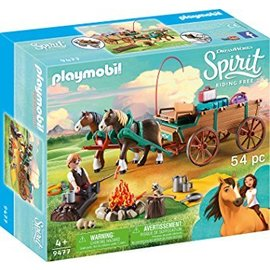 Playmobil pl9477 - Lucky's vader en wagen