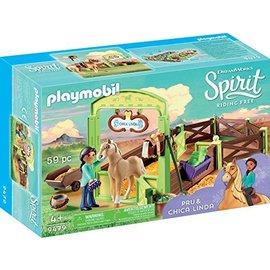 Playmobil pl9479 - Pru & Chica Linda met paardenbox
