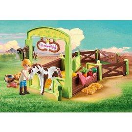 Playmobil pl9480 - Abigail & Boomerang met paardenbox
