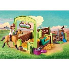 Playmobil pl9478 Lucky & Spirit met paardenbox