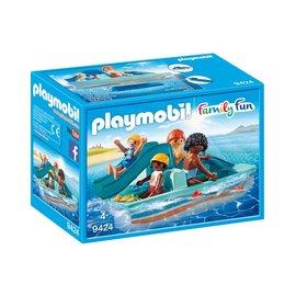 Playmobil pl9424 - Waterfiets met glijbaan