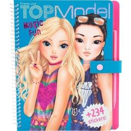 Top Models by Depesche TM10015 - Top Model Magic Fun kleurboek