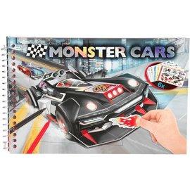 Top Models by Depesche MC6245 - Monster Cars pocket kleurboek