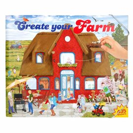 Top Models by Depesche DC5416 - Create your Farm Drawing Book