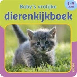 Boeken DT582282 - Baby's vrolijke dierenkijkboek