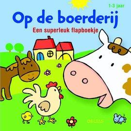 Boeken DT582407 - Op de boerderij - Een superleuk flapboekje
