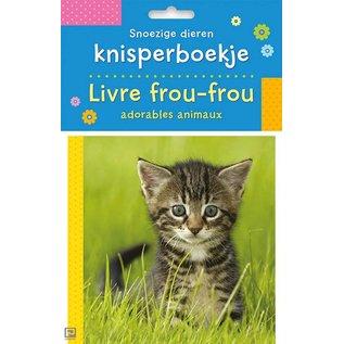 Boeken DT582706 - Snoezige dieren knisperboekje