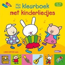 Boeken DT690817 - Lange oortjes - Mijn leuk kleurboek met kinderliedjes