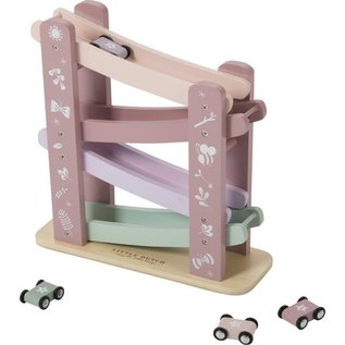Little Dutch LDU4374 - Little Dutch Houten autobaan Pink