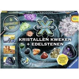 Ravensburger P188918 - XScience Kristallen Kweken + Edelstenen