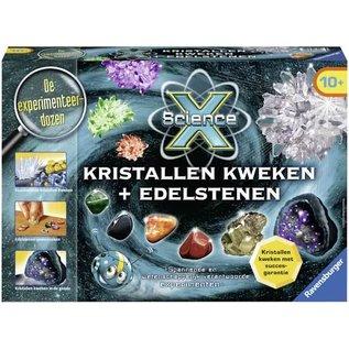 Ravensburger SP188918 - XScience Kristallen Kweken + Edelstenen