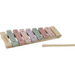 Little Dutch LDU4410 - Little Dutch Houten Xylofoon Pink