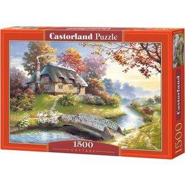Castorland puzzels PUC150359 - Cottage 1500 stukjes