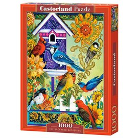 Castorland puzzels PUC104000 - The Backyard Gathering 1000 stukjes
