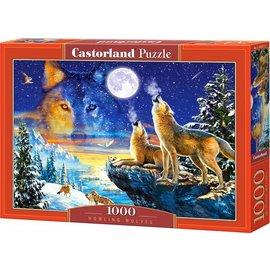 Castorland puzzels PUC103317 - Howling Wolves 1000 stukjes