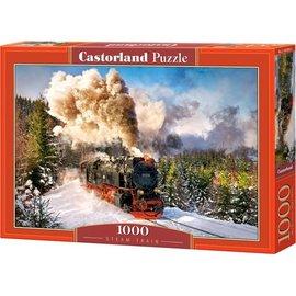 Castorland puzzels PUC103409 - Steam Train 1000 stukjes
