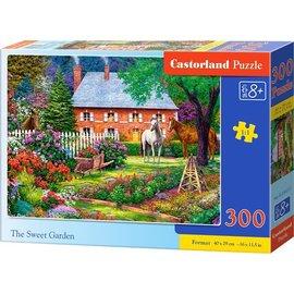 Castorland puzzels PUB030217 - De mooie tuin 300 stukjes