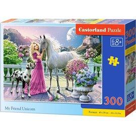 Castorland puzzels PUB030088 - Mijn vriend de Eenhoorn 300 stukjes