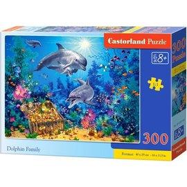 Castorland puzzels PUB030149 - Dolfijnenfamilie 300 stukjes