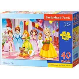 Castorland puzzels PUB040162 - Princess Party 40 stukjes